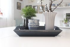 GreenGate Danishdesign danskdesign tray biancadustyblue dusty dustyblue bianca myhome Eslau Havetssus