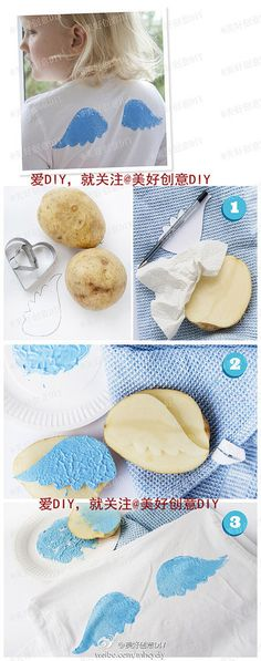 carimbo com batata