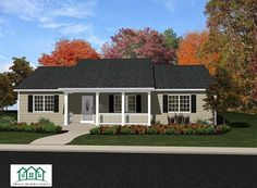 Ranch style house plans are typically single-story homes with rambling layouts. Effective use of space and open floor plans