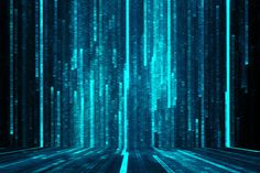 "Abstract matrix background (Shutterstock) Used in article ""A history of metaphors for the internet"" 