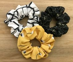 This listing is for one 3 pack of assorted printed scrunchies. View other listings for more colors. Looks Style, My Style, Boho Hairstyles, Ponytail Holders, Mellow Yellow, Cute Jewelry, Hair Jewelry, Hair Ties, Hair And Nails