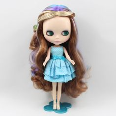 """Takara 12"""" Neo Blythe Doll colorful long curls hair from Factory #AG009#"""