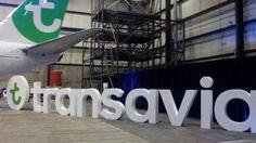 Presentatie nieuw logo Transavia