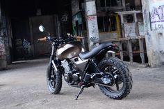 Honda cb 500 scrambler, selon freeride motos