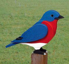 3D Giant Bluebird Woodcraft Pattern