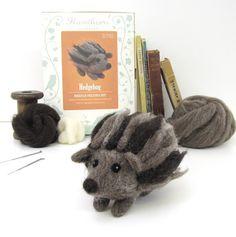 Joe's Toes - Hedgehog Needle Felting Kit