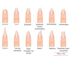 Different fashion nail shapes. Set kinds of nails. Different fashion nail shapes. Set kinds of nails. Acrylic Nails Stiletto, Acrylic Nail Shapes, Toe Nails, Salon Nails, Best Nail Art Designs, Toe Nail Designs, Beautiful Nail Designs, Stylish Nails, Trendy Nails