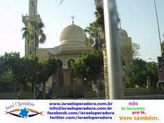 Cairo, no Egito, possui monumentos e construções deslumbrantes, como esta mesquita.