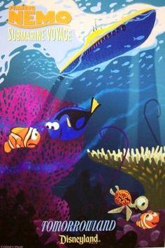 vintage Finding Nemo: Submarine Voyage poster