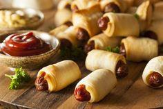 Mini Hot Dogs Enrollados Sansae