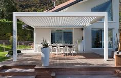 Closed Pergola Patio Ideas - Pergola Videos Rusticas - Pergola Shade Sun - Pergola Modernas Policarbonato - Simple Pergola Front Porches - Pergola Videos Plans Step By Step Diy Pergola, Pergola Alu, Pergola Carport, Building A Pergola, Pergola Canopy, Deck With Pergola, Outdoor Pergola, Pergola Lighting, Cheap Pergola