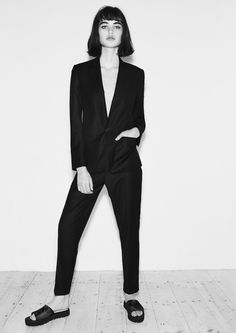 Oh, Suits You! Clean lines and dapper silhouettes inspire spring's coolest new cuts.