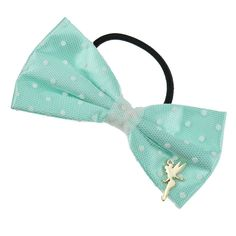 Disney Store Japan August 2014: Tinker Bell Bow hair tie love the subtle disney 648 yen