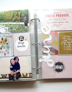 Project Life 2014 week 22 spread by pamgarrison at @studio_calico