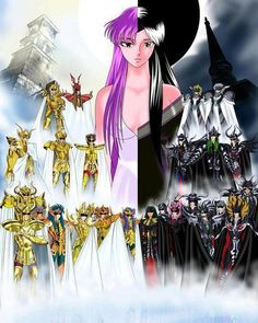 Saint Seiya Gold e Espectros