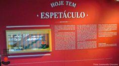 A Arte do Turismo e da Hotelaria: Diário de Viagem- Exposição, Hoje tem Espetáculo