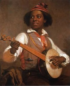 US Slave: About the Banjo by Tony Thomas....The banjo is a product of Africa. Africans transported to the Caribbean and Latin America were reported playing banjos in the 17th and 18th centuries, before any banjo was reported in the Americas. Africans in the US were the predominant players of this instrument until the 1840s. Banjo playing became popular in white culture as a result of the Blackface Minstrel shows that became a popular form of entertainment in the 1830s and 1840s.