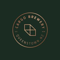 Cargo Brewery by @makebardo - See more on the site http://ift.tt/1OM78Ks - #logo #branding #brandidentity #logotype #graphicdesign #design #contemporary #typography #studio #print #beer #ale #brewery by thebrandidentity