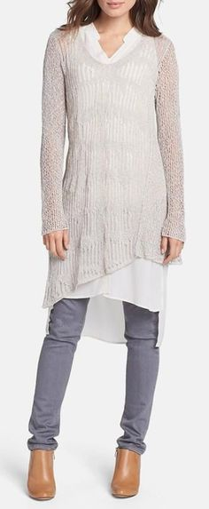 Nordstrom I would like a brighter color for the sweater - in a deep blue or medium pink