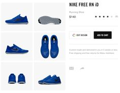 Design your own Nike Free shoe #nike #nikefree #nikeid #free #shoe #sneakers