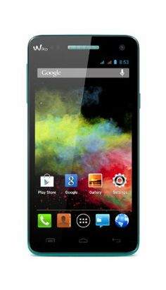 Wiko Rainbow Smartphone Bluetooth Android 4 Go Turquoise   Your #1 Source for Mobile Phones, MP3 Players & Accessories