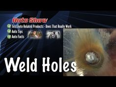 Tips For Welding Holes in Thin Sheet Metal