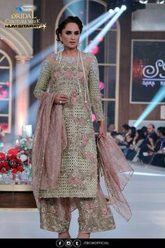 Sara Rohale Asghar Winter Collection 2016-2017 Bridal Couture Week Pakistan Fashion Week 8th edition