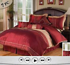 decorating with a red bedspread | by Bedding Sets on Nov.21, 2009, under Red Satin Bedding