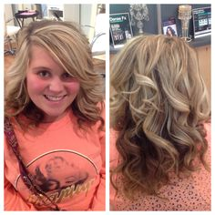 #karmakrew #karmasalonbuford #blondes #formalhair #beautifulcurls