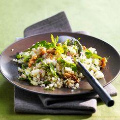 Découvrez la recette de la salade de quinoa et fenouil