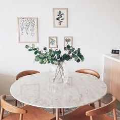 Divinely smooth and elegant😍 Tap to shop the Oia Marble Round Dining Table in Oak from Life Interior Dining Room Design, Dining Room Table, Marble Round Dining Table, Circular Dining Table, Home Furniture, Table Furniture, Home Furnishings, Room Decor, Table Decorations