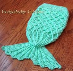 Crochet Mermaid Tail Pattern - Hodge Podge Crochet