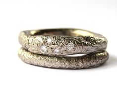 Katherine Bowman's rings. Love.