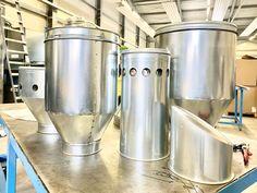 Einblicke in unsere Produktion - Spezialanfertigung Espresso, Coffee Maker, Kitchen Appliances, Custom Cars, Sheet Metal, Steel, Espresso Coffee, Coffee Maker Machine
