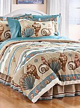 Shoreline Comforter Set and Valance | Blair