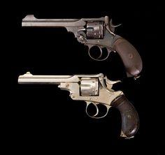 Welbey .44 caliber revolver