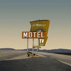 California highway by Ed Freeman