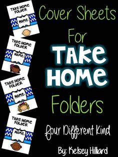 This product contains four different types of Take Home Folder Sheets for Kids. ( Includes a green pencil with different ethnicity's) Thanks, Kelsey Hilliard . Behavior Management, Classroom Management, Take Home Folders, Middle School, Back To School, Teacher Binder Covers, Brag Tags, Classroom Organization, Teacher Resources