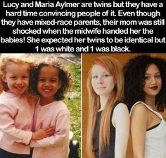 lucy and maria alymer the two twins that look WTF Facts : funny, interesting & weird facts — Lucy and Maria Alymer, the two twins that look… - Colorful Toupee Hairs Wtf Fun Facts, True Facts, Funny Facts, Random Facts, Random Stuff, Crazy Facts, Cool Facts, Awesome Facts, Funny Stuff