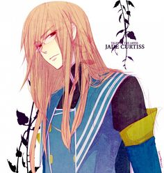 Favorite supporting male anime character: Jade Curtiss from Tales of the Abyss Kamichama Karin, Jade, Baka And Test, Tales Of Berseria, Brothers Conflict, Tales Of Zestiria, Cute Anime Boy, Anime Boys, Tales Series