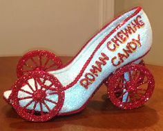 Confessions of a glitter addict: Roman Candy Wagon Muses Shoe