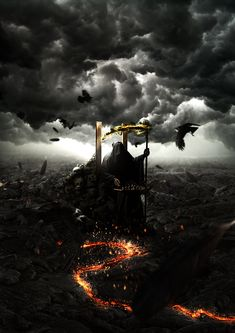 Four Horsemen of Apocalypse - Death by ~violsky on deviantART
