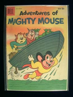 Adventures of Mighty Mouse, The #145  Mighty Mouse - The Wrong Dummy, Heckle & Jeckle