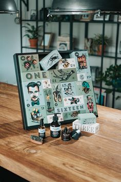 Advent calendar for men from Brooklyn Soap Company – advent calendar ideas - Geschenke Ideen Easy Diy Crafts, Fall Crafts, Crafts For Kids, Personalised Gifts For Girlfriend, Personalized Gifts, Best Gifts For Men, Cool Gifts, Style Brooklyn, Advent Calendar For Men