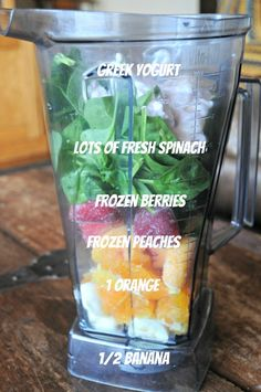 My Favorite Greenish Smoothie Recipe | mountainmamacooks.com
