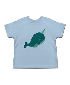 Loving this Light Blue Whale Tee - Toddler & Kids on #zulily! #zulilyfinds