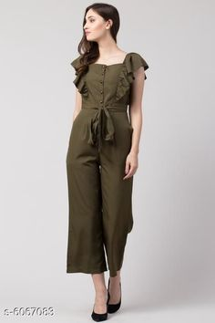 Jumpsuits Sia Attractive Women's Jumpsuit Fabric: Poly Crepe Sleeve Length: Short Sleeves Pattern: Solid Multipack: 1 Sizes:  S (Bust Size: 36 in Length Size: 48 in Waist Size: 28 in)  XL (Bust Size: 42 in Length Size: 48 in Waist Size: 34 in)  XS (Bust Size: 34 in Length Size: 48 in Waist Size: 26 in)  L (Bust Size: 40 in Length Size: 48 in Waist Size: 32 in)  M (Bust Size: 38 in Length Size: 48 in Waist Size: 30 in) Country of Origin: India Sizes Available: XS, S, M, L, XL   Catalog Rating: ★4.2 (10606)  Catalog Name: Sia Attractive Women's Jumpsuit CatalogID_921725 C79-SC1030 Code: 736-6067083-7071
