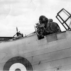 Fairey Battle rear gunner Ww2 Planes, Royal Air Force, Military Aircraft, First World, Wwii, Pilot, Aviation, British, Hadley