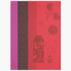 Instant du the Red Tea Towel, $24, from Le Jacquard Francais