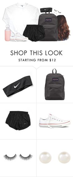 """Pretty and simple colors"" by aweaver-2 on Polyvore featuring NIKE, JanSport, Contigo, Converse and Accessorize"